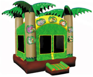 Jungle Jumper, Inflatable Jungle Bouncer (B1144) pictures & photos