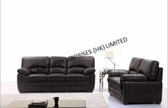 PVC Black Home Furniture Modern Sofa pictures & photos