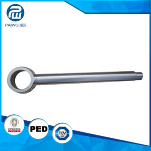 Forged High Precision Alloy Steel Piston Rod Hydraulic Part pictures & photos