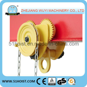 Shuangge Lifting Tools Geared Trolley for Chain Block
