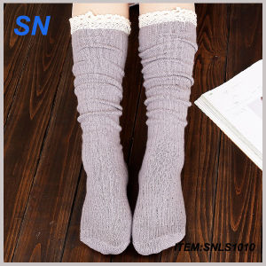 Wholesale 2015 Custom Cheap Women Fashion Boot Socks pictures & photos