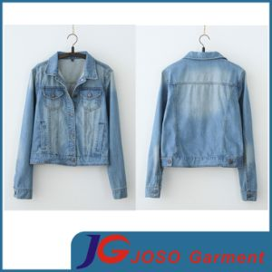 Manufacture Women Denim Jacket (JC4021) pictures & photos
