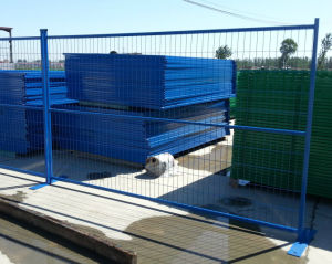 PVC Coated Temporary Fence with High Quality pictures & photos