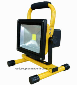 IP65 50W COB 6 Hrs Rechargeable Portable Flood Light pictures & photos