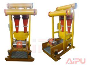 Well Drilling and Mud Cleaning Mud Desander