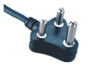 - 3-Pin-South-Africa-Power-Cord-Plug-with-VDE-Approval