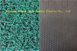 Diamond Backing PVC Coil Mat in Rolls for Double Color Design pictures & photos