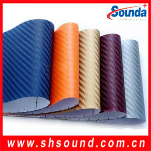 High Quality PVC Carbon Fiber Vinyl pictures & photos