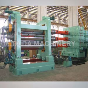 Nylon Polyester Fabric Rubber Sheet Coating Calender Production Line for Radial Tire pictures & photos