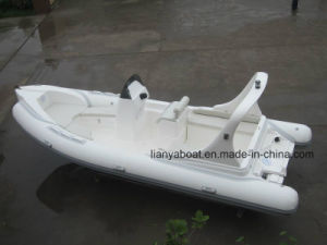 Liya 20ft Hypalon Rib Boats with Engine Inflatable Rubber Boat for Sale pictures & photos
