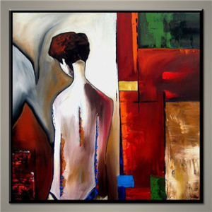 Wholesale Abstract Nude Girl Oil Painting