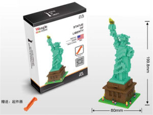 626PCS Small Brick Toy Statue of Liberty Diamond Building Block (10205372) pictures & photos