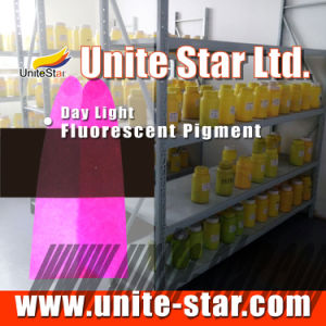 Day Light Fluorescent Pigment Fv-Gold-Yellow for Inks pictures & photos