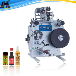 Semi-Automatic Round Bottle Labeling Machine (GH-Y100) pictures & photos
