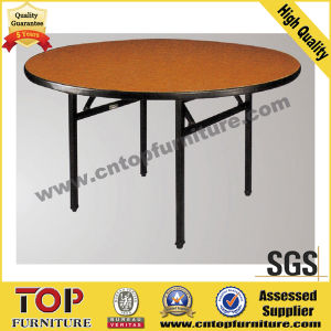 Round Dining Folding Banquet Table pictures & photos