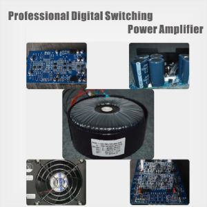 Professional Digital Switching Power Amplifier 1200W pictures & photos