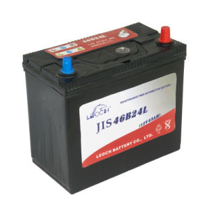 B24 Nx100-S6 High Capacity 12V 45ah Rechargeable Battery Electric Car Battery pictures & photos
