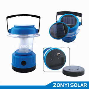Solar Camping Light (ZY-T90A with mobile charger) pictures & photos