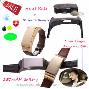 2017 Waterproof Smart Bracelet with Answering Call B3 pictures & photos