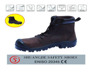 Hot Sale Double Density PU Safety Shoes/Footwear198-2