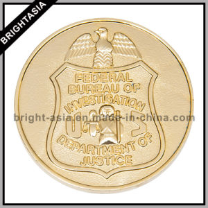 Metal Coin with Enamel Color, Military Challenge Coin (BYH-10808) pictures & photos