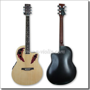 """41"""" Cutaway Plastic Round Back Western Ovation Guitar with EQ (AFO229CE) pictures & photos"""