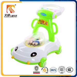 China Wholesale Special Baby Walker with 4 Plastic Wheels pictures & photos