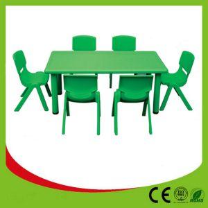 China Preschool Plastic Kindergarten Furniture pictures & photos