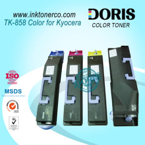 Tk855 Tk856 Tk857 Tk858 Tk859 Color Copier Toner Cartridge for Kyocera Taskalfa 400ci 500ci 552ci pictures & photos