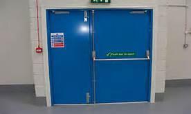 Steel Fire Door with American Standard pictures & photos