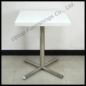(SP-RT398) Wholesale European Style Square Cafe Restaurant Dining Table pictures & photos