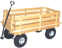 Wood Garden Trolley pictures & photos