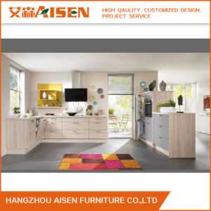 2016 New Promotion Melamine Kitchen Cabinet Made in China pictures & photos