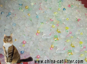 Huminrich Ball Shaped Pet Sand Silica Gel Cat Litter pictures & photos