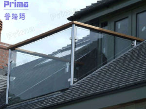 Hotseling Glass Balcony Railing, Glass Panel Railing Systems (PR-B1086) pictures & photos