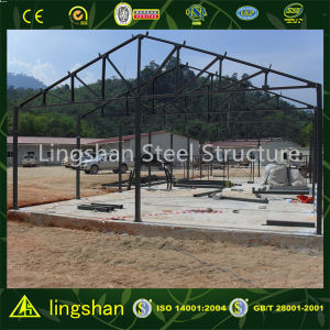 Qingdao Low Cost Steel Structure Prefabricated House pictures & photos