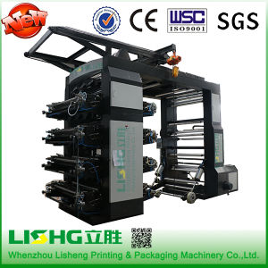 Stack Type 8 Color Shopping Bag Flexo Printer Machine pictures & photos