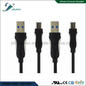 Fast Transmitting USB 3.1 Type C Data Cable with Ce RoHS pictures & photos