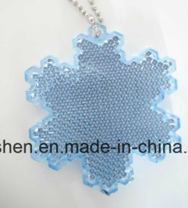 Snowflake Reflective Keyring, Good Promotional Gift pictures & photos