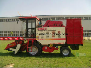 Three Rows Competitive Price of Mini Corn Combine Harvester pictures & photos