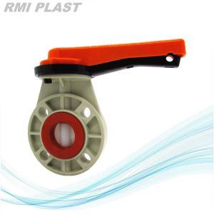 Lever Hand Pph Butterfly Valve for Industrial pictures & photos