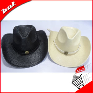 Fashion Paper Straw Cowboy Hat pictures & photos