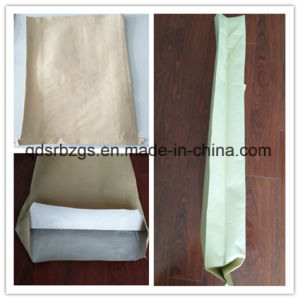 Paper-Plastic Compound PP Woven Bag for Graphite Powder, Mortar pictures & photos