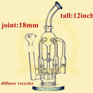 Matrix Honeycomb Recycler Smoking Glass Water Pipe pictures & photos