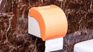 Plastic Small Toilet Paper Holder for Hotel / Home / Hospital (KW-891) pictures & photos