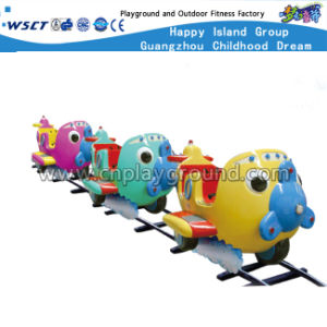 4 Seats Cartoon Electric Mini Train Kids Outdoor Play Equipment (HD-10402) pictures & photos
