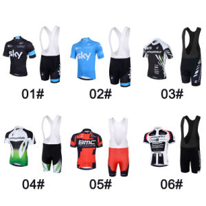 The Most Popular Cycling Jersey with Bib Shorts pictures & photos