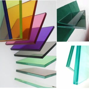 Clear / Colored / Tinted Toughened / Tempered Safety PVB Laminated Building Glass pictures & photos