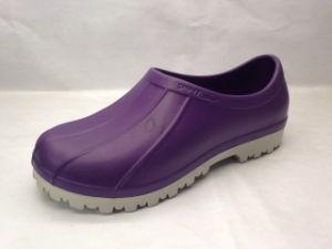 Two Color EVA TPE Clogs Sandals Shoes for Women (21FC1608) pictures & photos