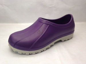 Two Color EVA TPU Clogs for Women (21FC1608) pictures & photos